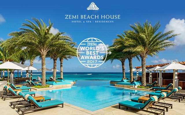 The Votes Are In! Zemi Beach House Named one of 2017 Best New Resorts